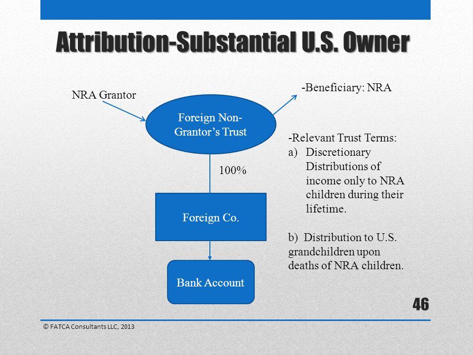 Foreign Non- Grantor's Trust