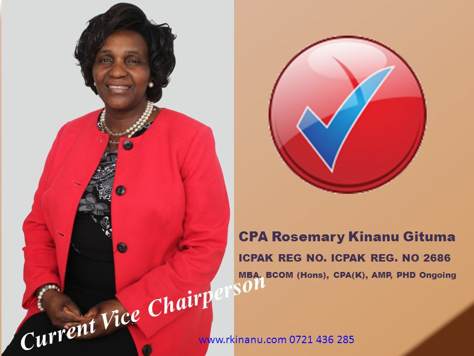 Current Vice Chairperson