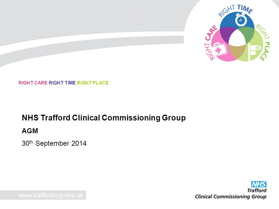 NHS Trafford Clinical Commissioning Group