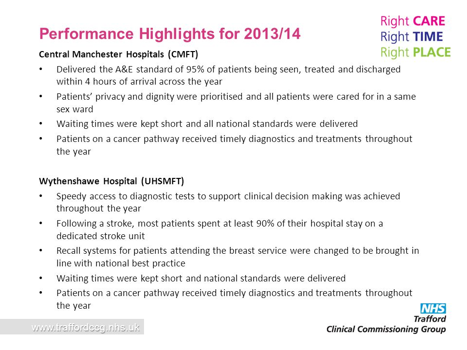 Performance Highlights for 2013/14