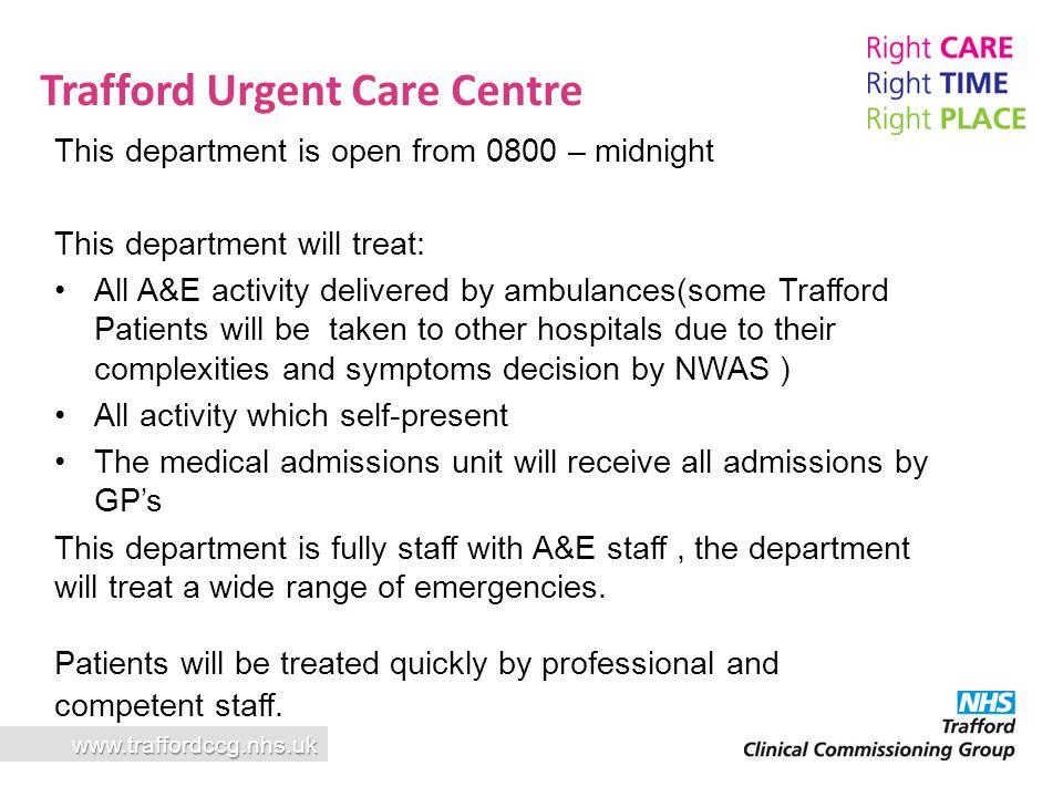 Trafford Urgent Care Centre