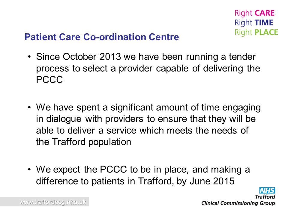 Patient Care Co-ordination Centre