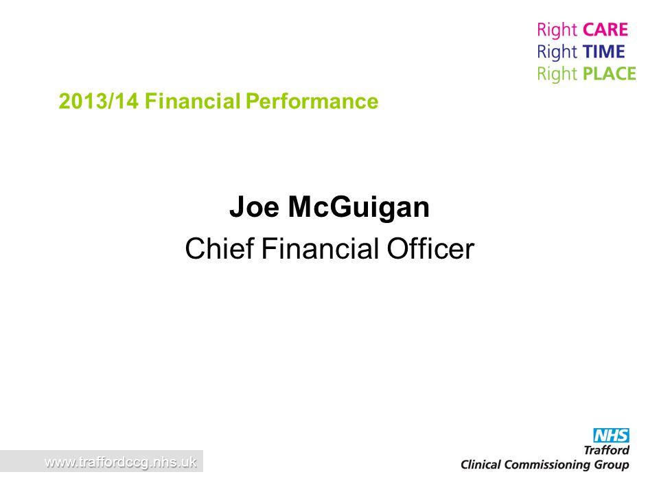 Joe McGuigan Chief Financial Officer