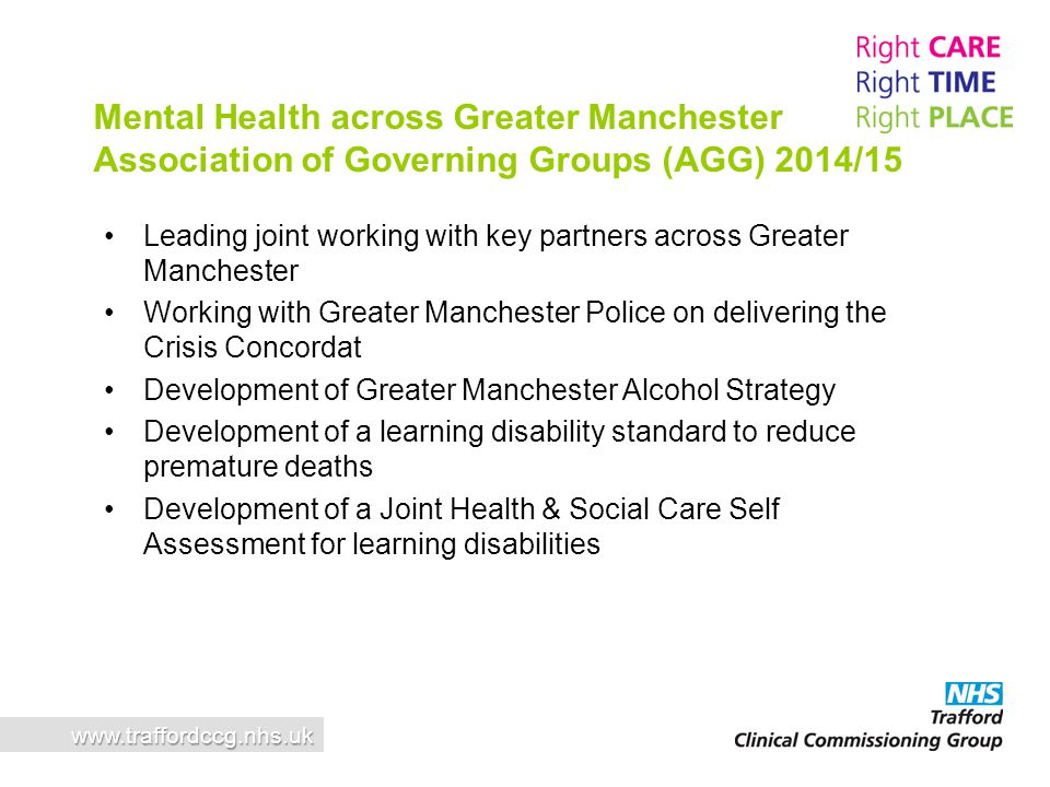 Mental Health across Greater Manchester