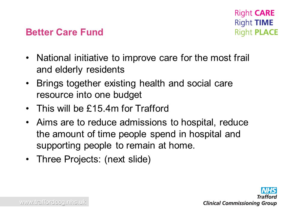 This will be £15.4m for Trafford