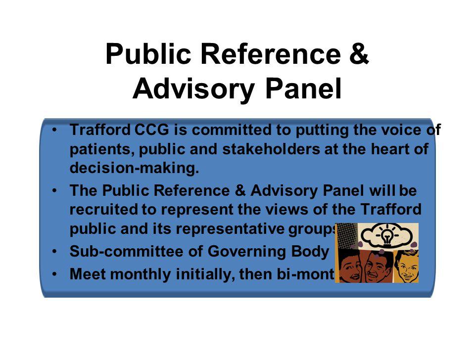 Public Reference & Advisory Panel