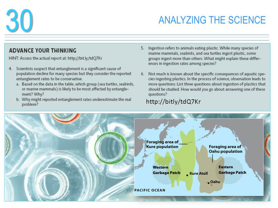 30 ANALYZING THE SCIENCE http://bitly/tdQ7Kr