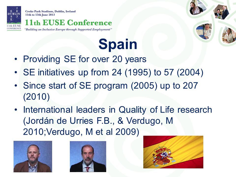 Spain Providing SE for over 20 years