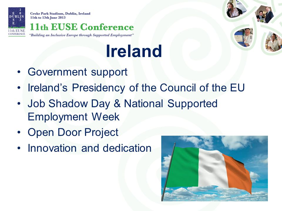 Ireland Government support