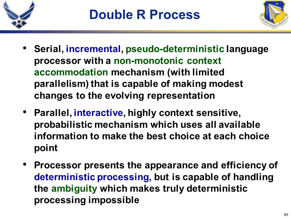 Double R Process
