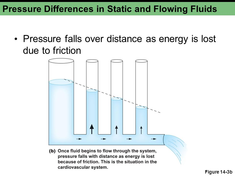 Pressure Differences in Static and Flowing Fluids