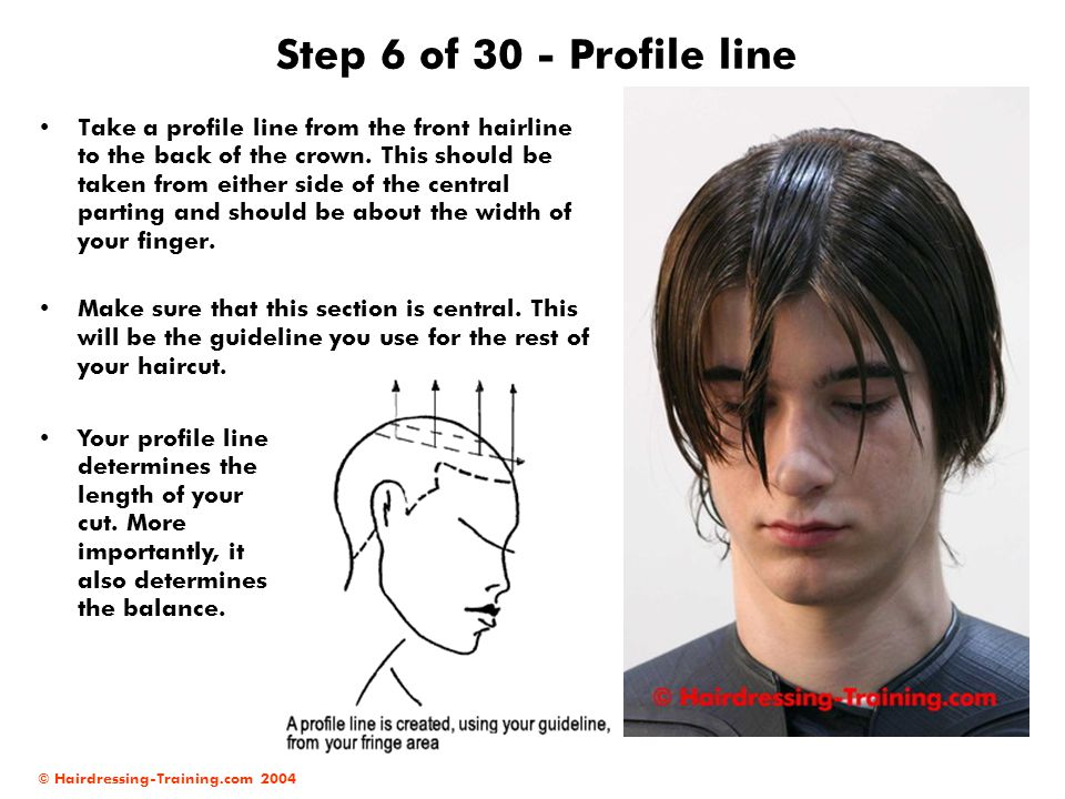 Step 6 of 30 - Profile line