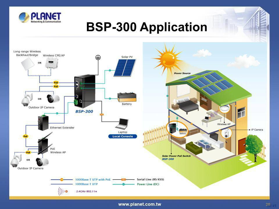 BSP-300 Application 38/45