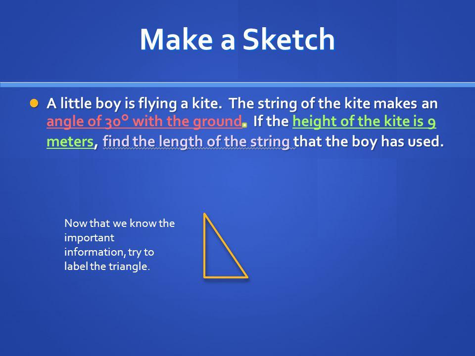 Make a Sketch