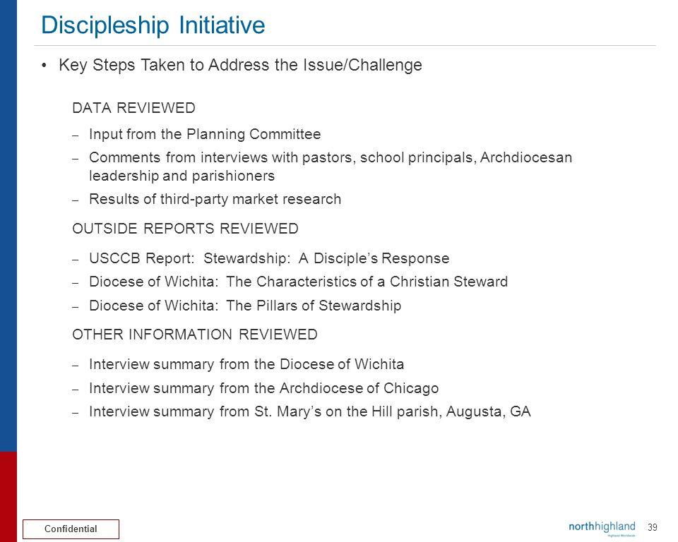 Discipleship Initiative