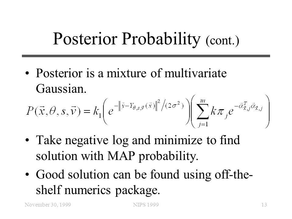 Posterior Probability (cont.)