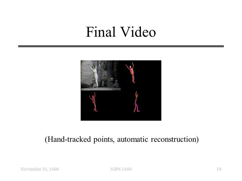 Final Video (Hand-tracked points, automatic reconstruction)