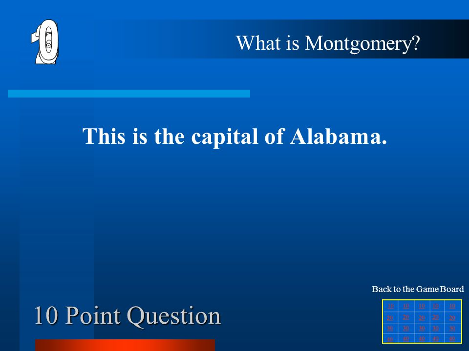 This is the capital of Alabama.