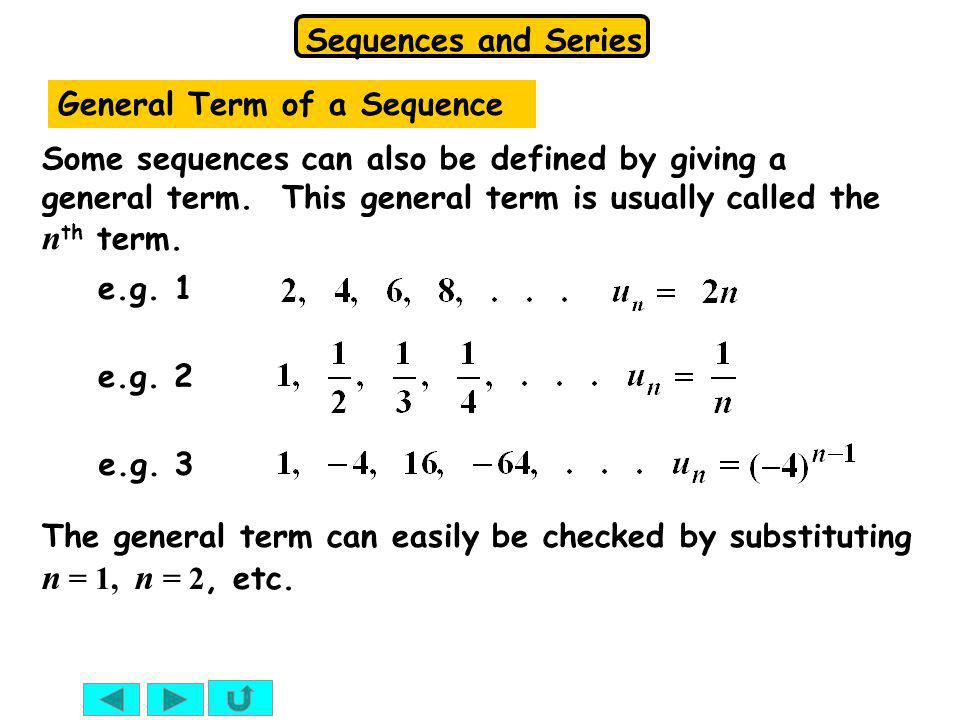 General Term of a Sequence