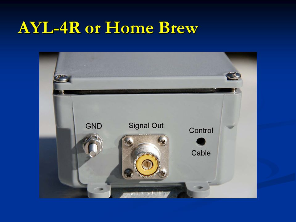 AYL-4R or Home Brew