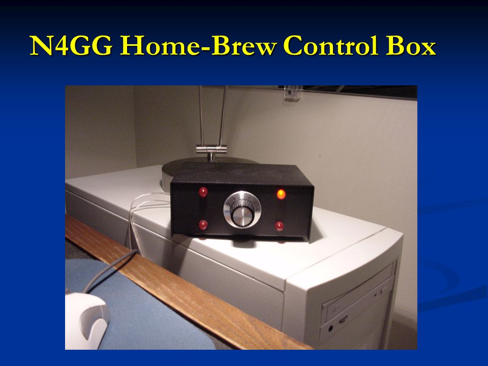 N4GG Home-Brew Control Box