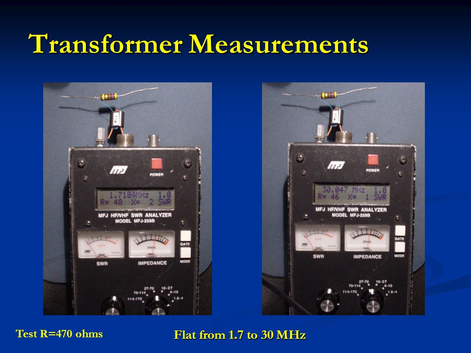 Transformer Measurements