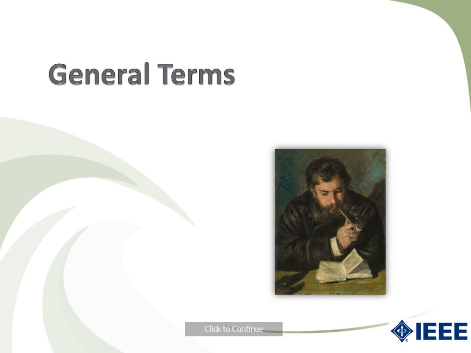 General Terms Click to Continue