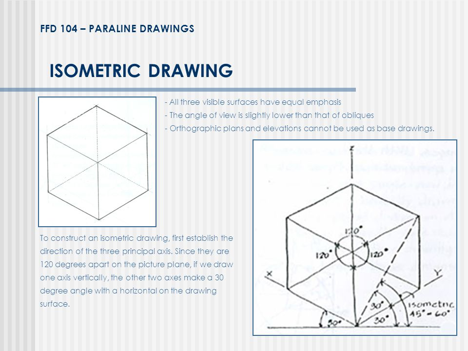 ISOMETRIC DRAWING FFD 104 – PARALINE DRAWINGS