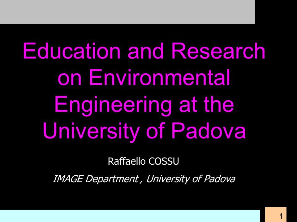 IMAGE Department , University of Padova