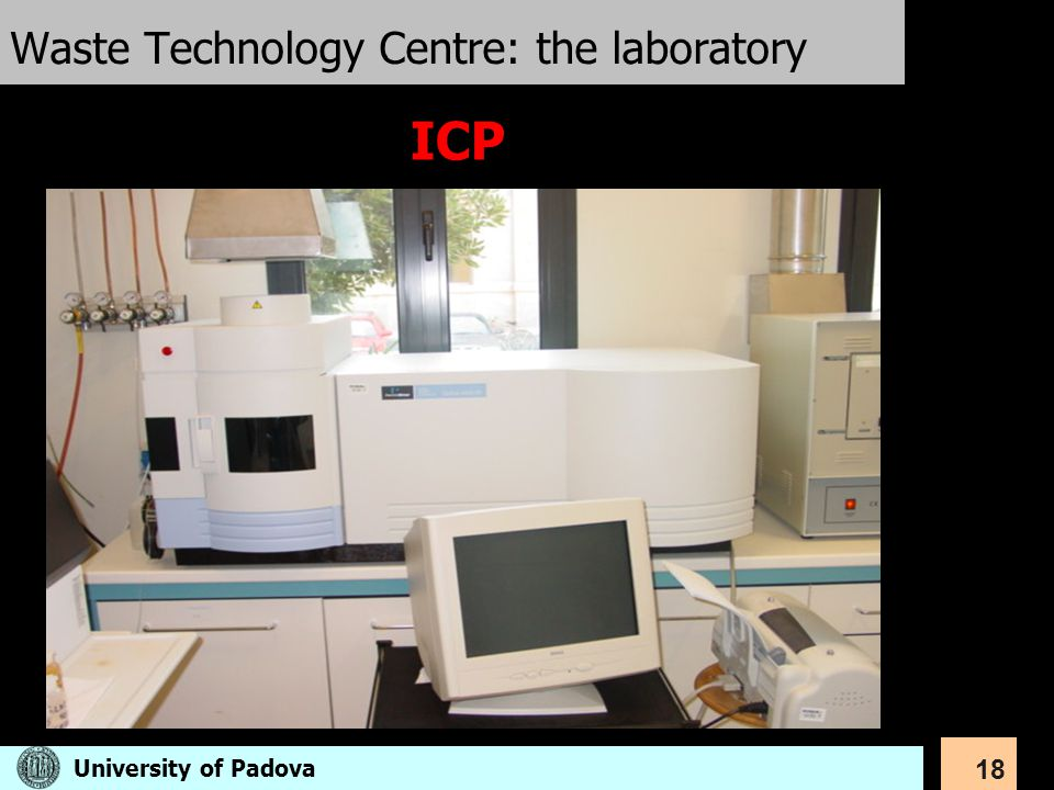 Waste Technology Centre: the laboratory