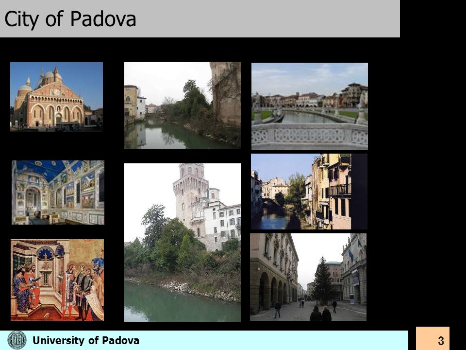 City of Padova University of Padova