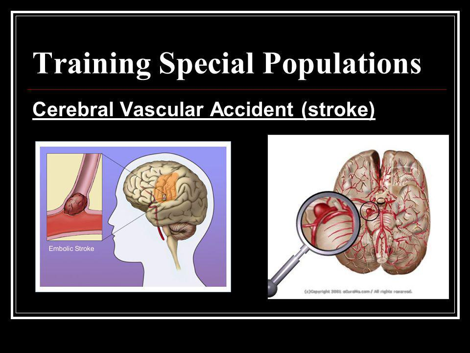 Training Special Populations
