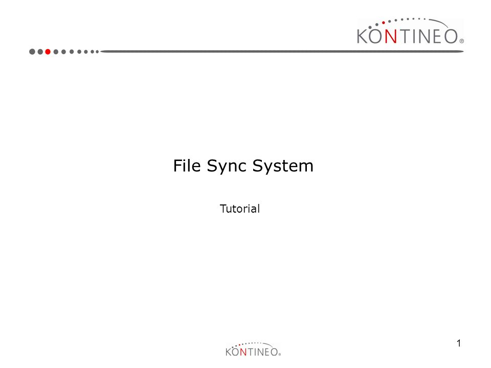 File Sync System Tutorial