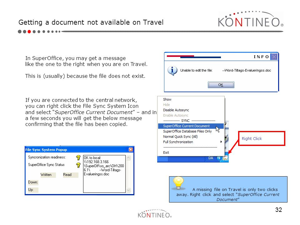 Getting a document not available on Travel