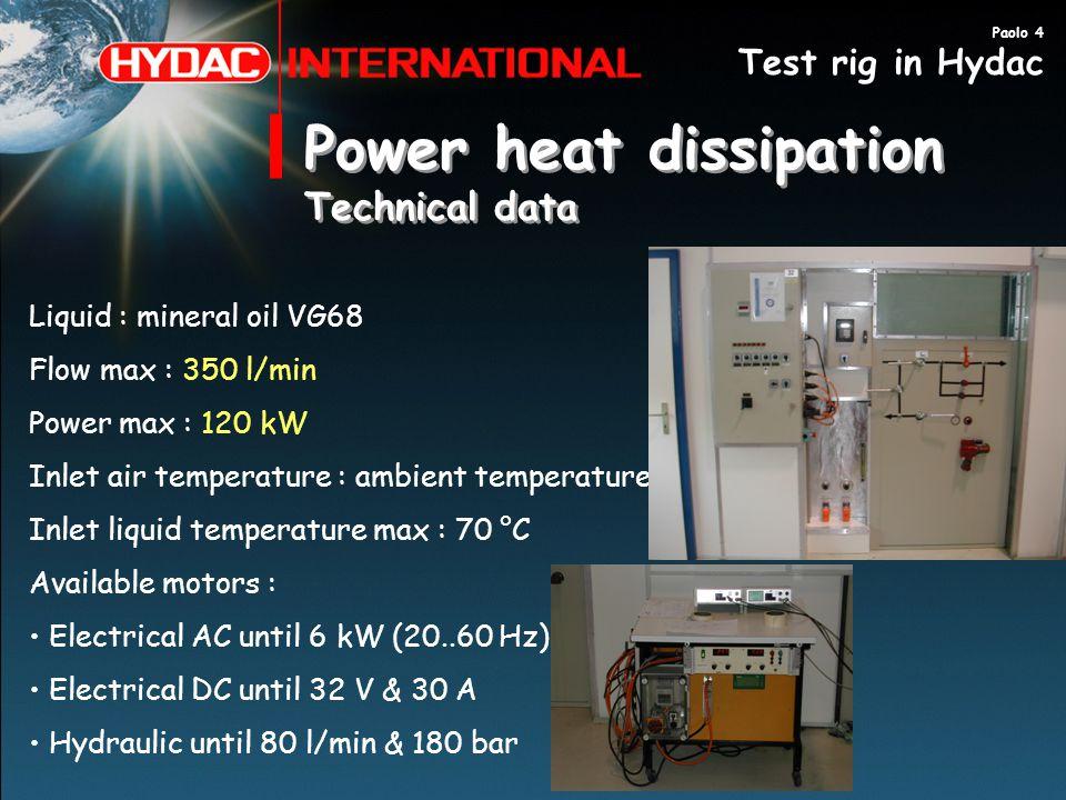 Power heat dissipation