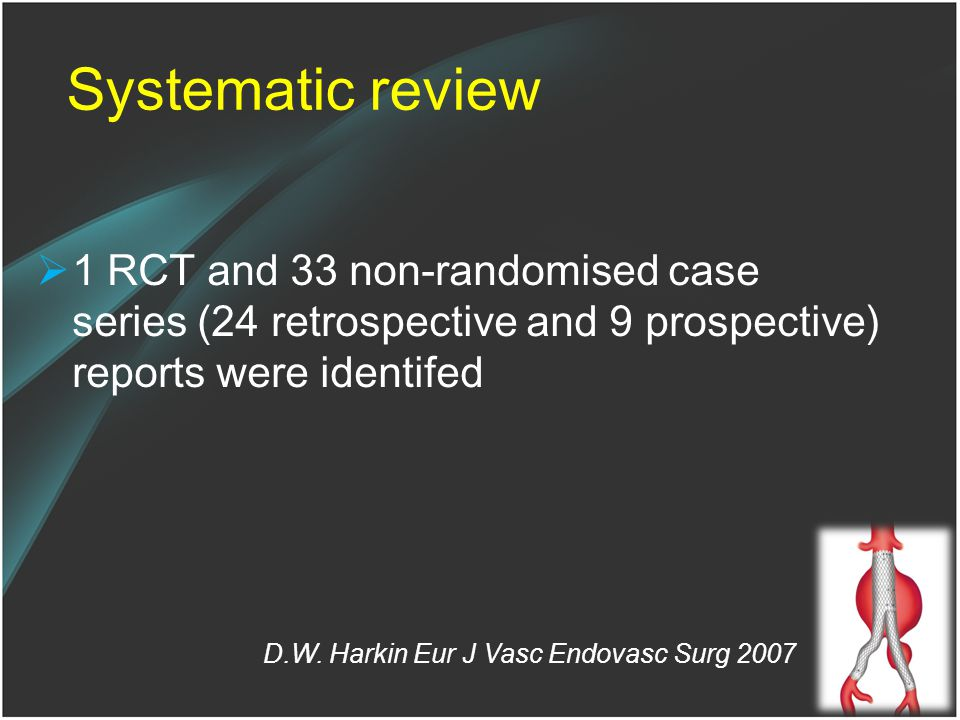 Systematic review 1 RCT and 33 non-randomised case series (24 retrospective and 9 prospective) reports were identifed.
