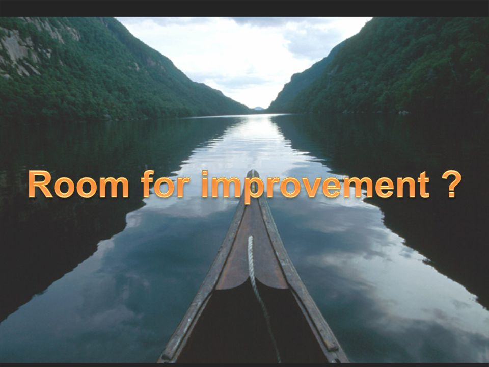 Room for improvement Title