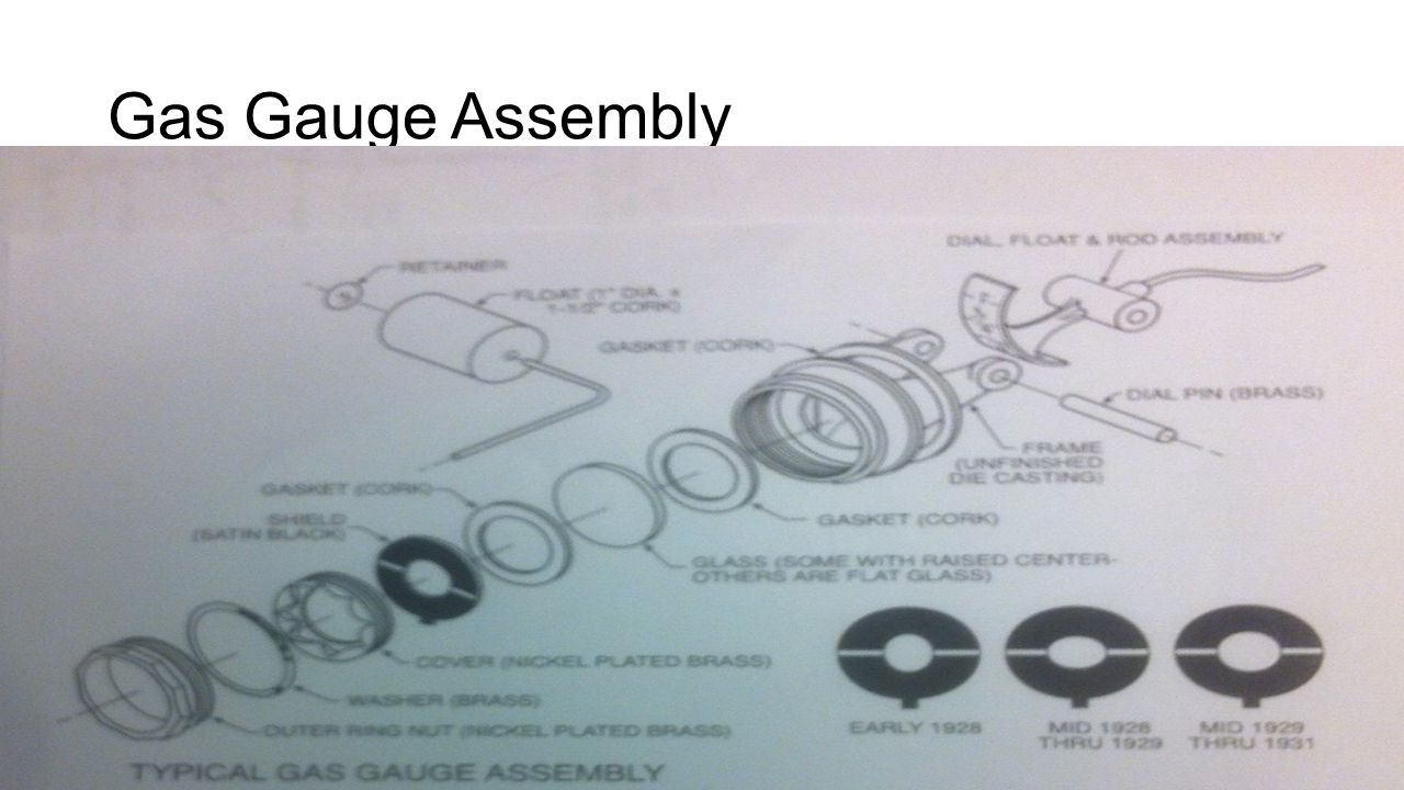 Gas Gauge Assembly