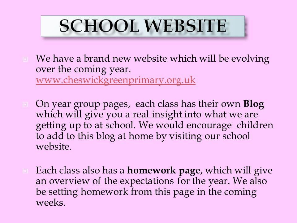 SCHOOL WEBSITE OUR SCHOOL WEBSITE