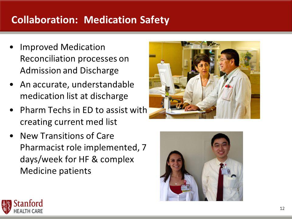 Collaboration: Medication Safety