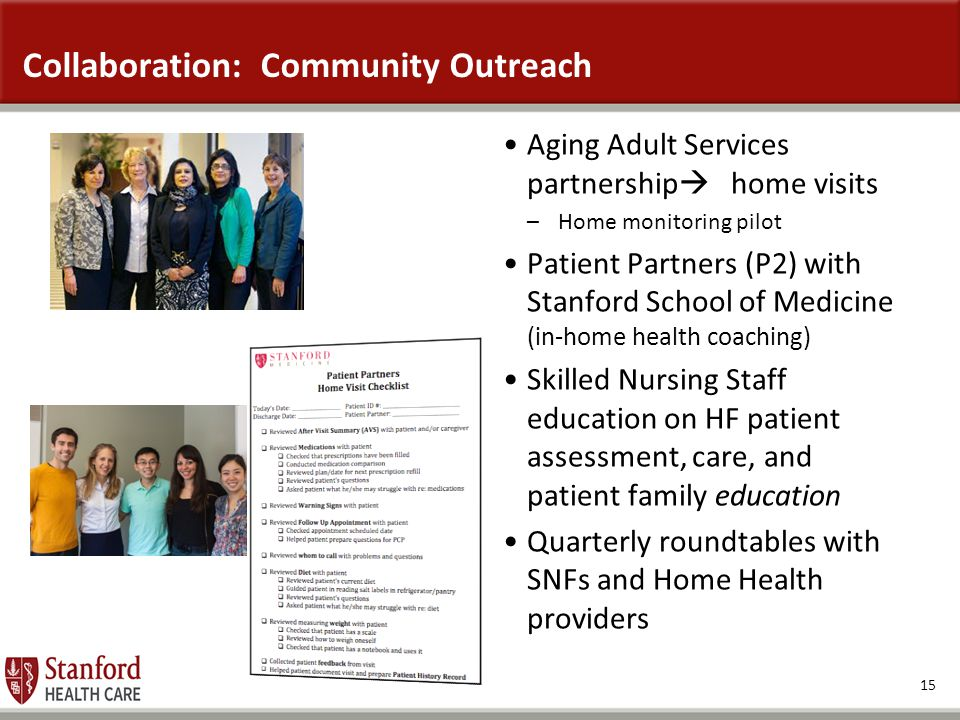 Collaboration: Community Outreach
