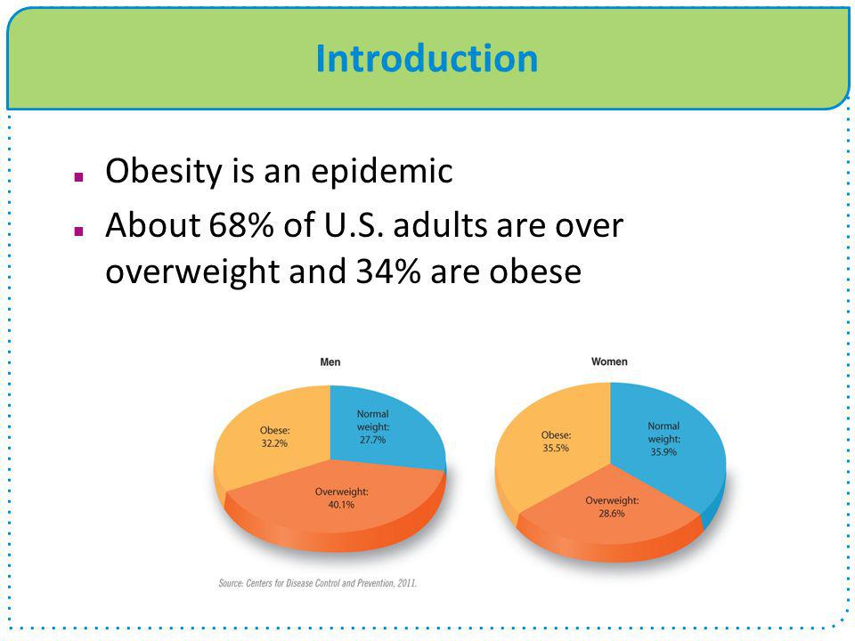 Introduction Obesity is an epidemic