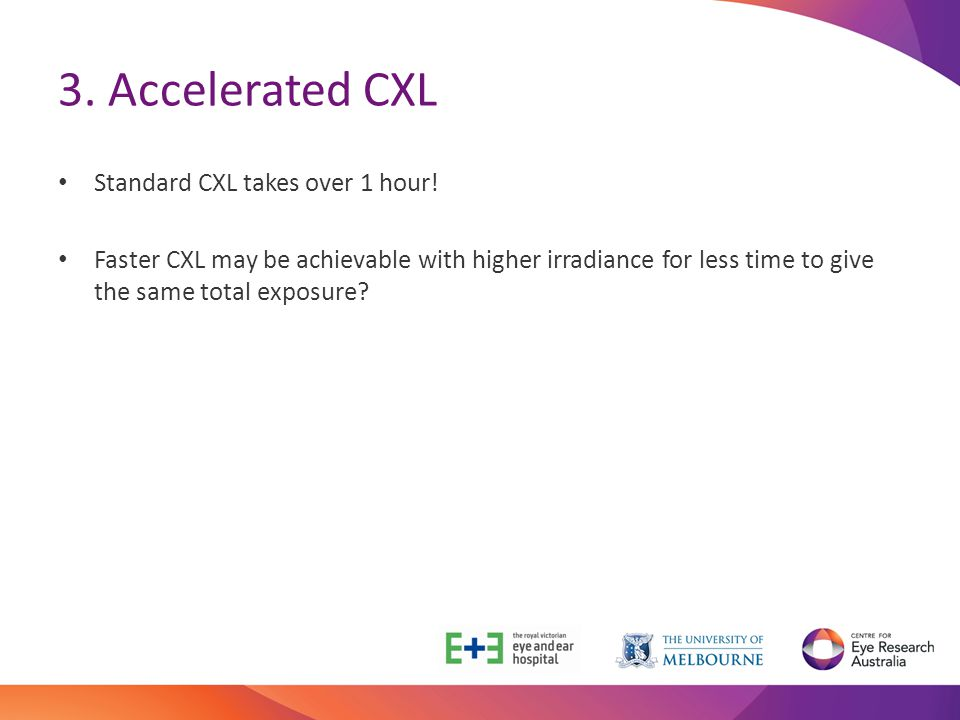 3. Accelerated CXL Standard CXL takes over 1 hour!
