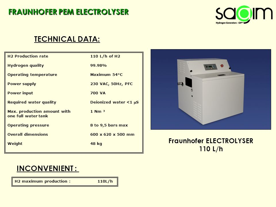 Fraunhofer ELECTROLYSER