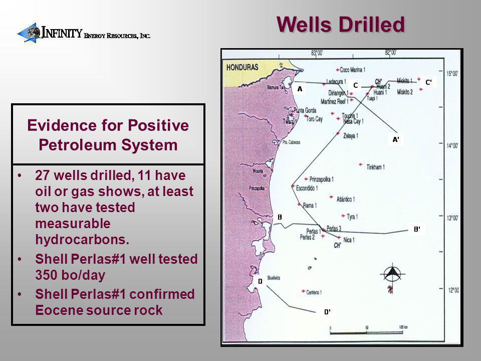 Evidence for Positive Petroleum System
