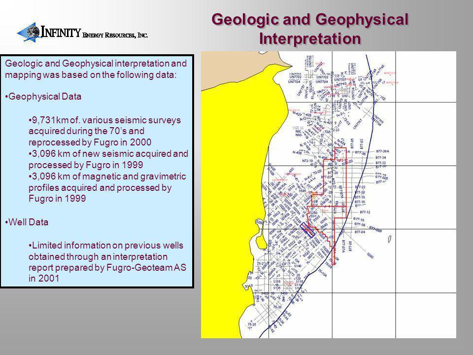 Geologic and Geophysical Interpretation