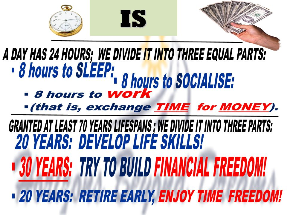 IS 30 YEARS: TRY TO BUILD FINANCIAL FREEDOM!