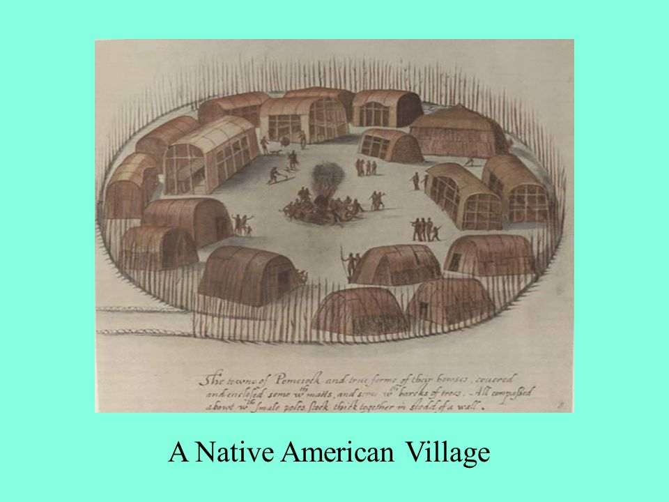 A Native American Village