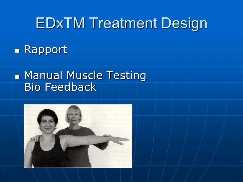 EDxTM Treatment Design