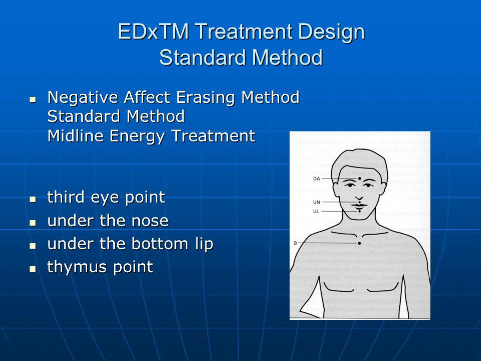 EDxTM Treatment Design Standard Method